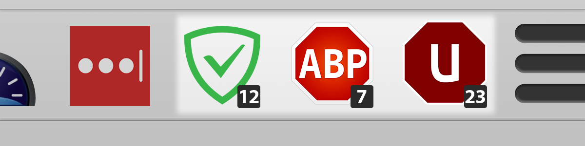 Ad blocking browser plug-ins