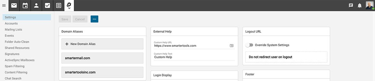 SmarterMail 16 for Domain Admins